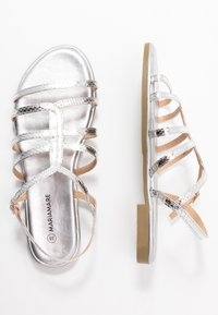 Mariamare - Sandaler - silver - 3