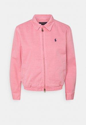 MONTAUK - Džínová bunda - ribbon pink