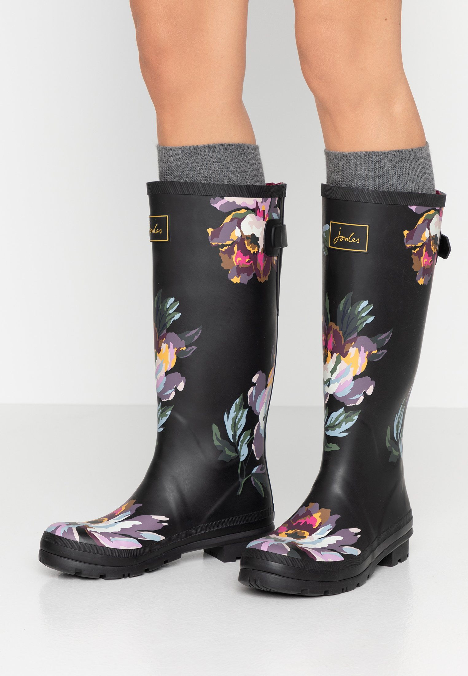 Tom Joule WELLY PRINT Gummistövlar black Zalando.se