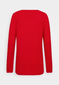 TOM TAILOR - SWEATER NEW OTTOMAN - Jumper - strong red - 1
