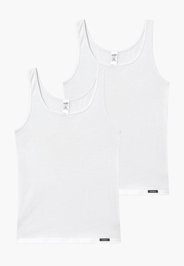 GIRLS 2 PACK - Undershirt - white
