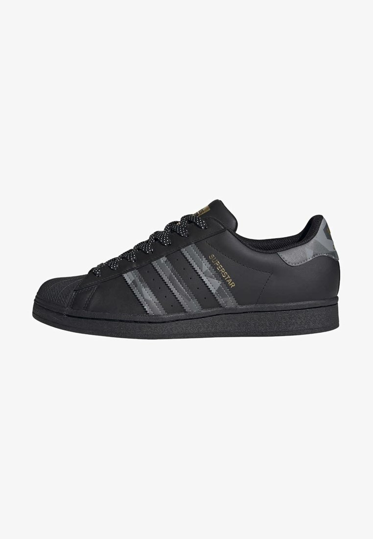 adidas Originals - SUPERSTAR SHOES - Trainers - black
