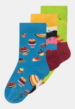 GIFTBOX BIRTHDAY 3 PACK UNISEX - Socks - multi-coloured