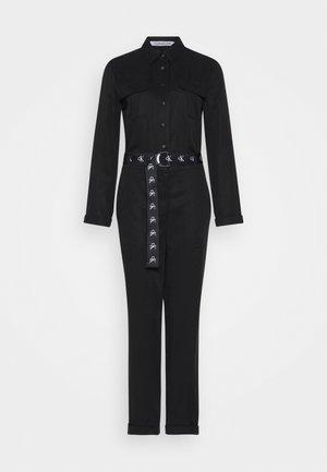 TAPERED UTILITY  - Jumpsuit - black