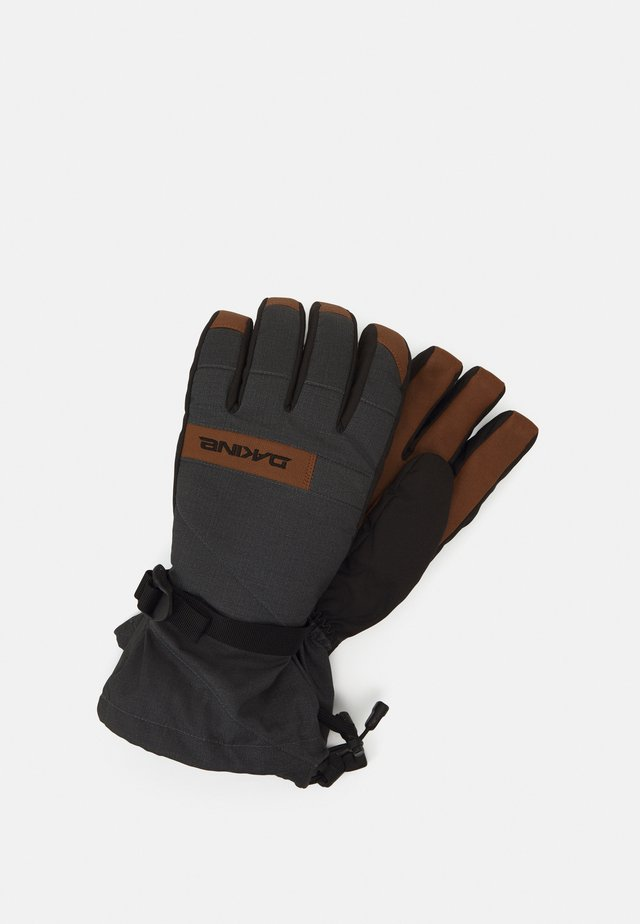 NOVA GLOVE - Fingervantar - carbon