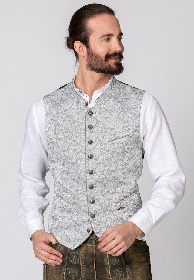 DAVIS - Waistcoat - light grey