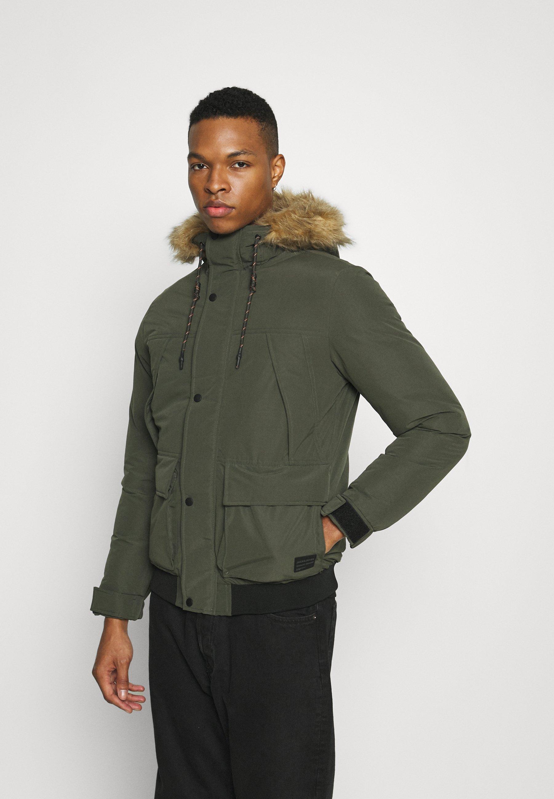 Men JJSUPER BOMBER - Light jacket