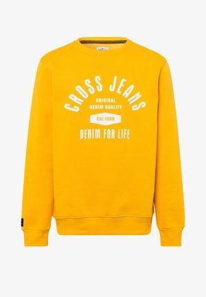 Sweatshirt - dunkelgelb