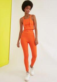 Trendyol - Trousers - orange - 2
