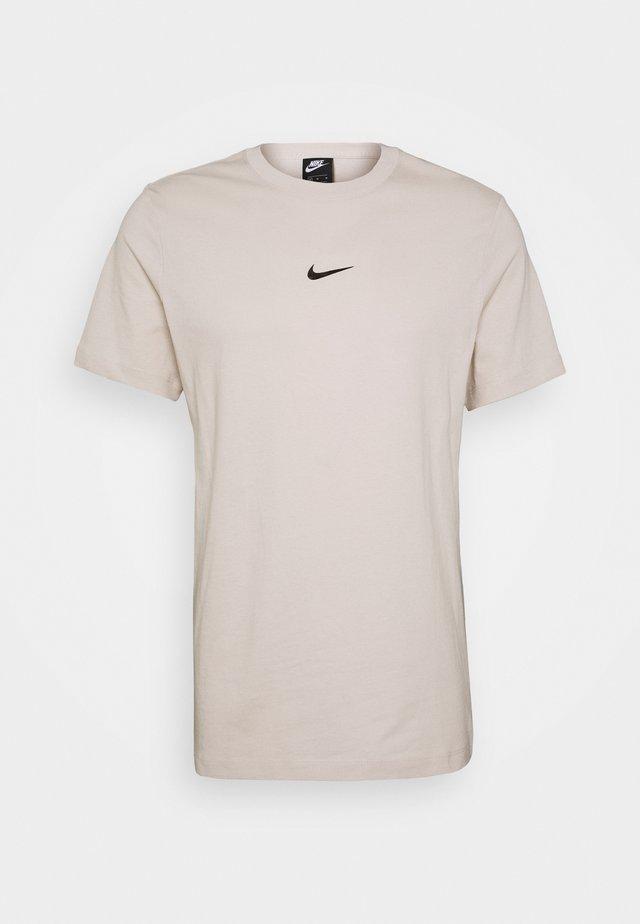 TEE - Print T-shirt - light orewood brown