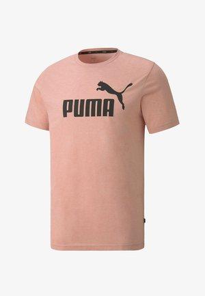 ESSENTIALS - T-shirt imprimé - bridal rose heather