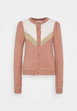 HAIRY GLITTER - Vest - vintage pink combo