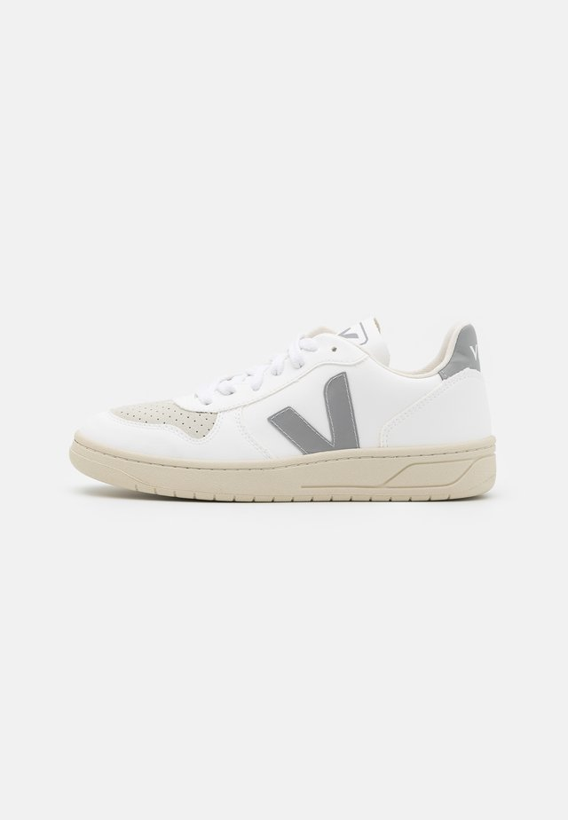 VEGAN V-10 - Sneakers basse - white/oxford grey