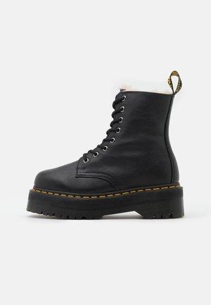 JADON  - Kotníkové boty na platformě - black pisa