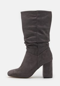 Dorothy Perkins - ROUCHED BOOT - Boots - grey - 1