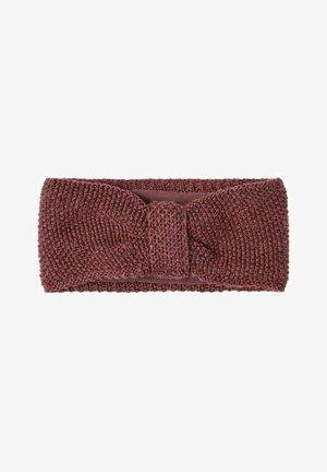 Ear warmers - red mahogany