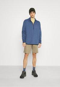 Wrangler - ALL TERRAIN GEAR ZIP - Långärmad tröja - dark blue - 1