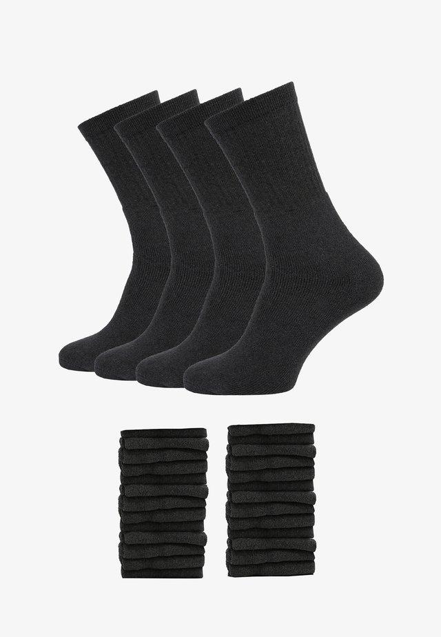 30ER PACK - Sokken - anthrazit