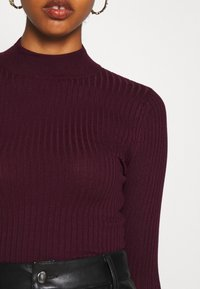 Even&Odd - Maglione - wine red - 5