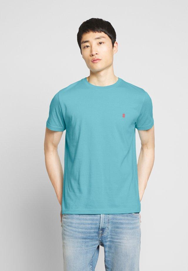 BASIC SOLID TEE - T-shirt basique - blue