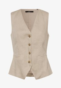 zero - Waistcoat - raw cotton - 4