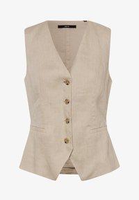 Waistcoat - raw cotton