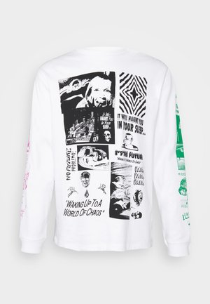 BITS OF BRAIN - Long sleeved top - white