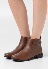 Anna Field - Ankle boots - dark brown - 0