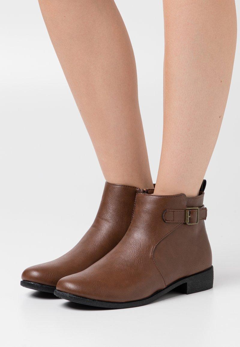 Anna Field - Ankle boots - dark brown