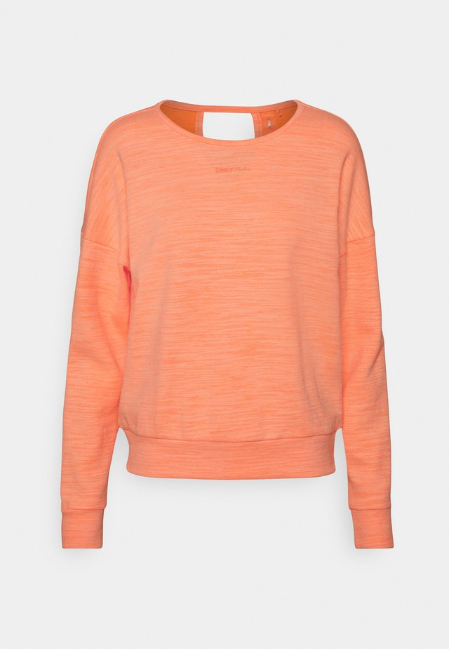 ONPMACHA O-NECK - Sweater - neon orange