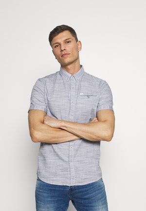 FLOYD STRUCTURE SHIRT - Camicia - navy white