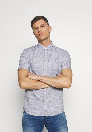 FLOYD STRUCTURE SHIRT - Shirt - navy white