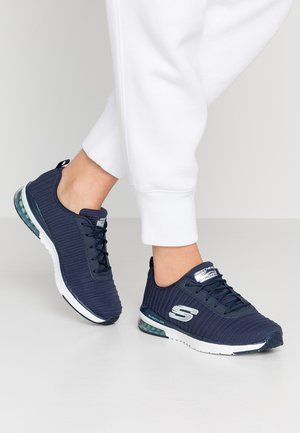 SKECH AIR - Baskets basses - navy/white