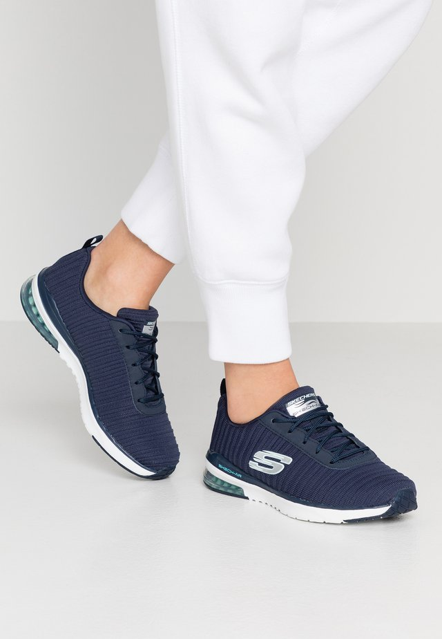 SKECH AIR - Trainers - navy/white