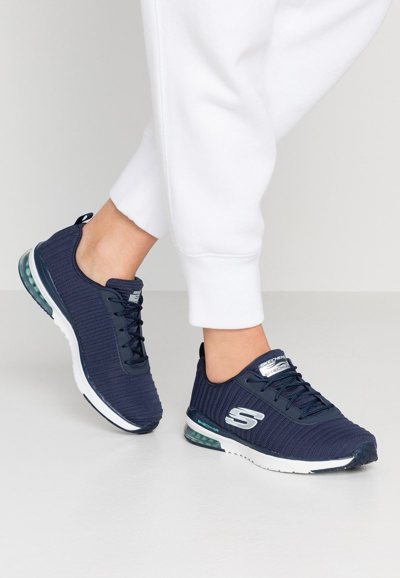 Skechers Sport - SKECH AIR - Trainers - navy/white