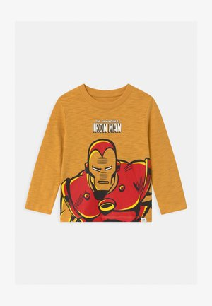 TODDLER BOY GRAPHICS - Long sleeved top - bright gold