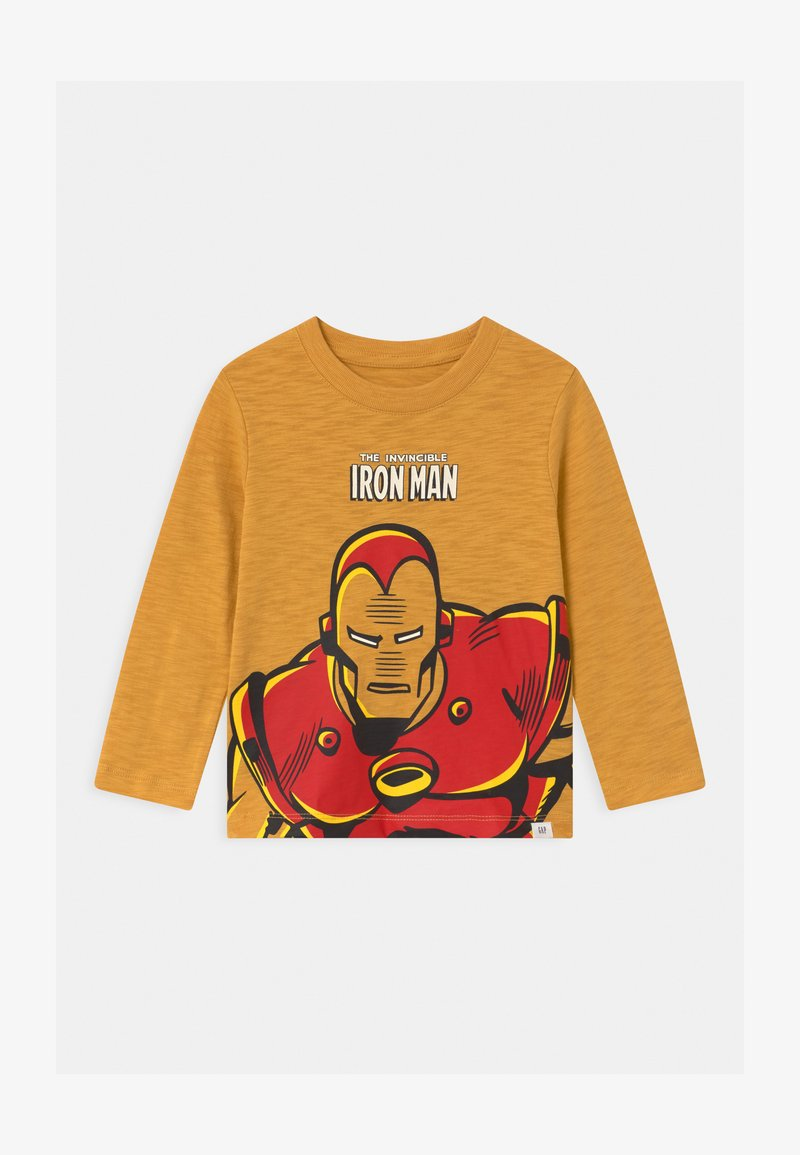 GAP - TODDLER BOY GRAPHICS - Long sleeved top - bright gold