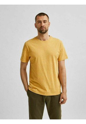 SLHNORMAN O NECK TEE - Basic T-shirt - wood thrush