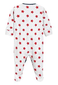 Next - STRIPE AND STAR SLEEPSUITS FIVE PACK (0MTHS-2YRS) - Pyžamo - green - 2