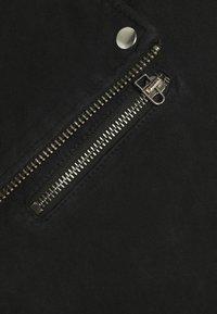 Goosecraft - ALEXANDER BIKER - Kožená bunda - black - 6
