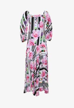 MARLIN - Maxi dress - weiß/rosa