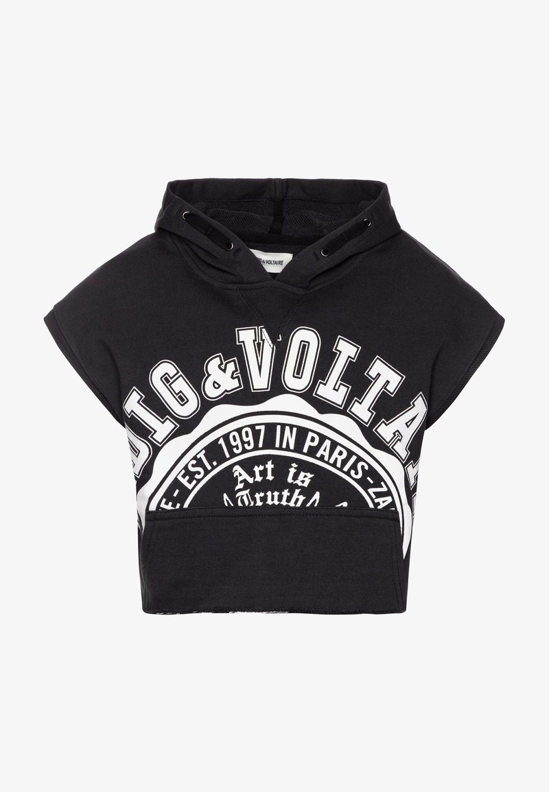Zadig & Voltaire - HOODED - Hoodie - charcoal grey