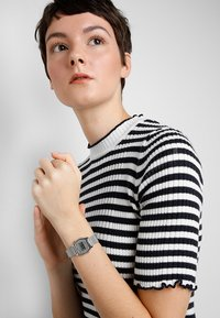 Casio - Digital watch - silver-coloured - 0