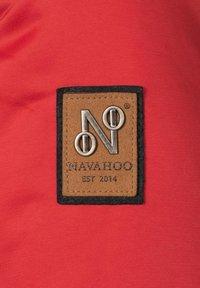 Navahoo - DAYLIGHT - Winter coat - red - 5