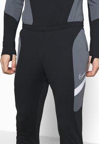 Nike Performance - DRY ACADEMY SUIT - Tracksuit - black/black/white/white - 6