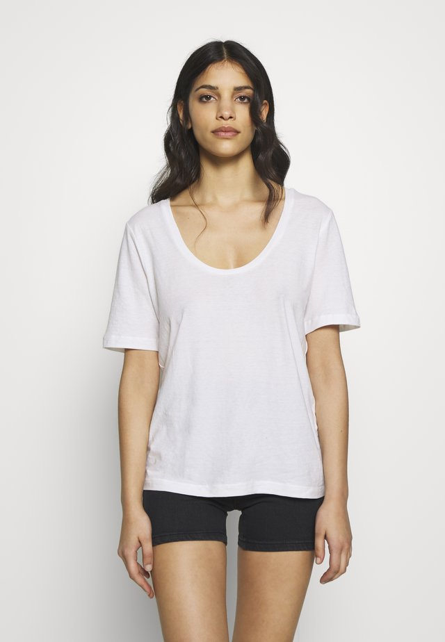 SLFASTRID TEE  PETITE - T-shirt basic - bright white