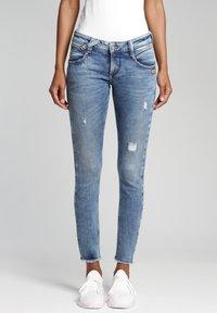 Gang - SKINNY FIT - Jeans Skinny Fit - azur vintage - 0