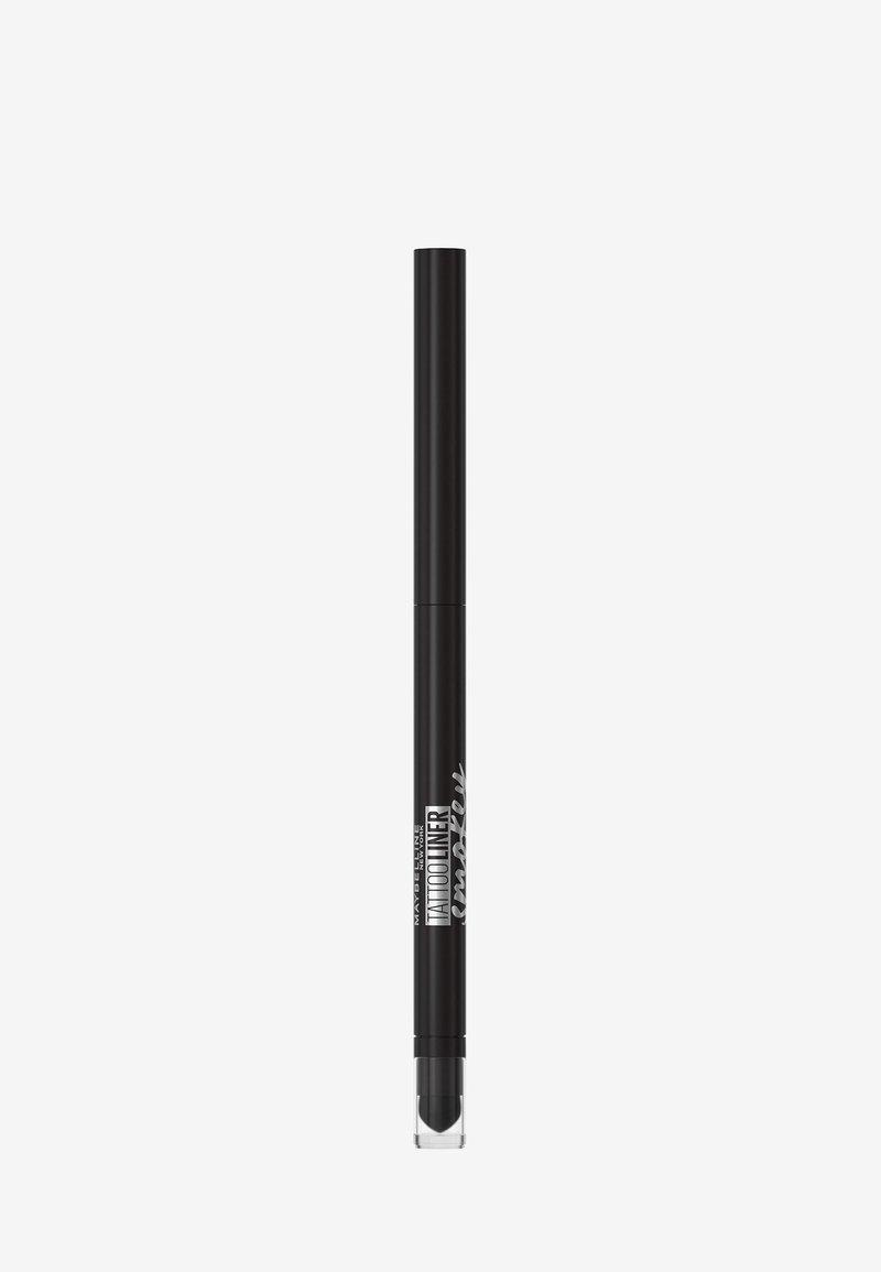 Maybelline New York - TATTOO LINER SMOKEY GEL PENCIL - Eyeliner - black