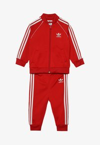 adidas Originals - SUPERSTAR SET - Sudadera con cremallera - scarlet/white - 4