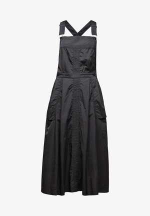 PINAFORE MIDI - Day dress - coated asfalt